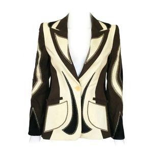 Moschino Vintage Patchwork Jacket